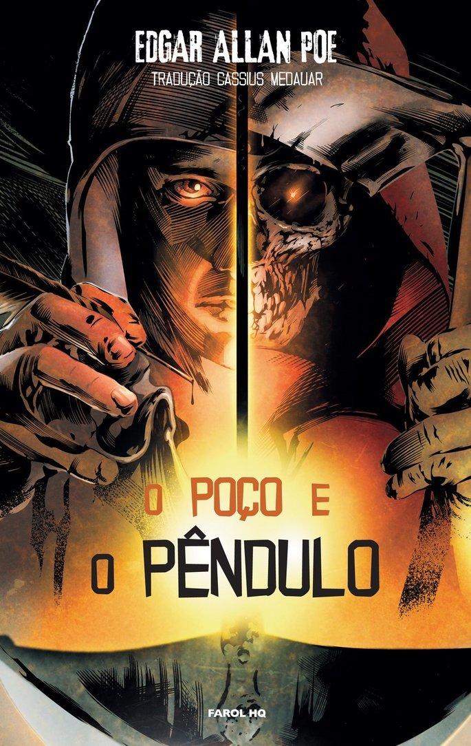 Capa do livro O Poço e o Pêndulo