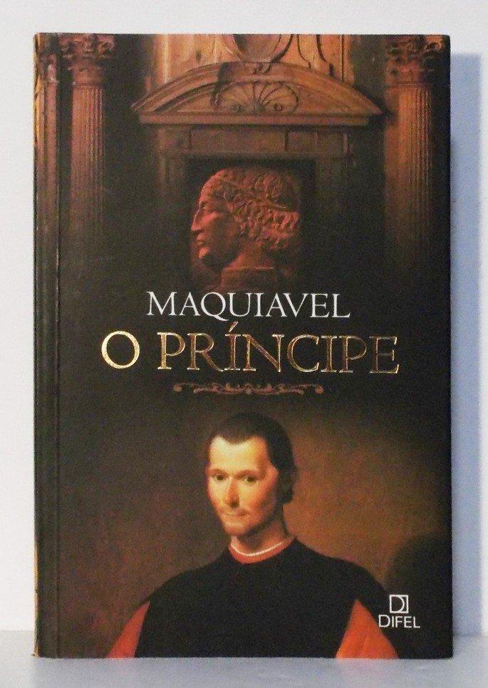 Capa do livro O Príncipe, de Nicolau Maquiavel.