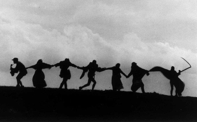dança da morte o setimo selo