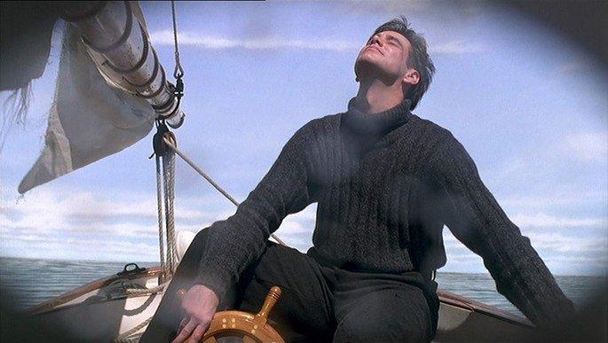 cena de O show de Truman no mar