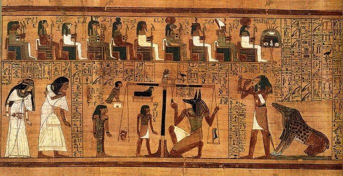 O tribunal de Osiris