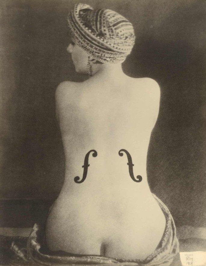 O violino d'Ingres - Man Ray