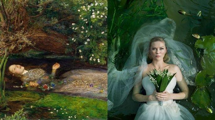 filme Melancolia e Ofélia, de John Everett Millais