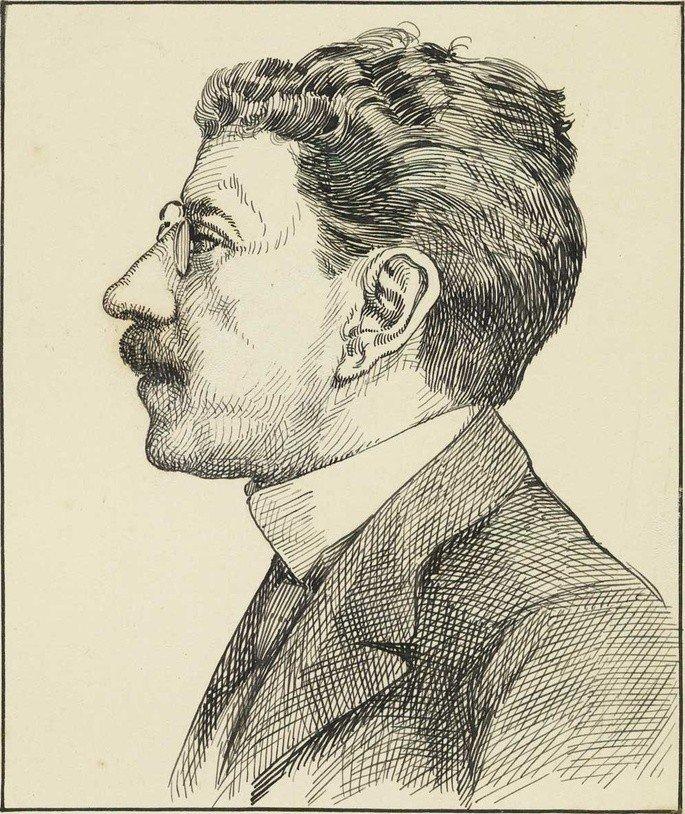 Ilustração de Olavo Bilac.