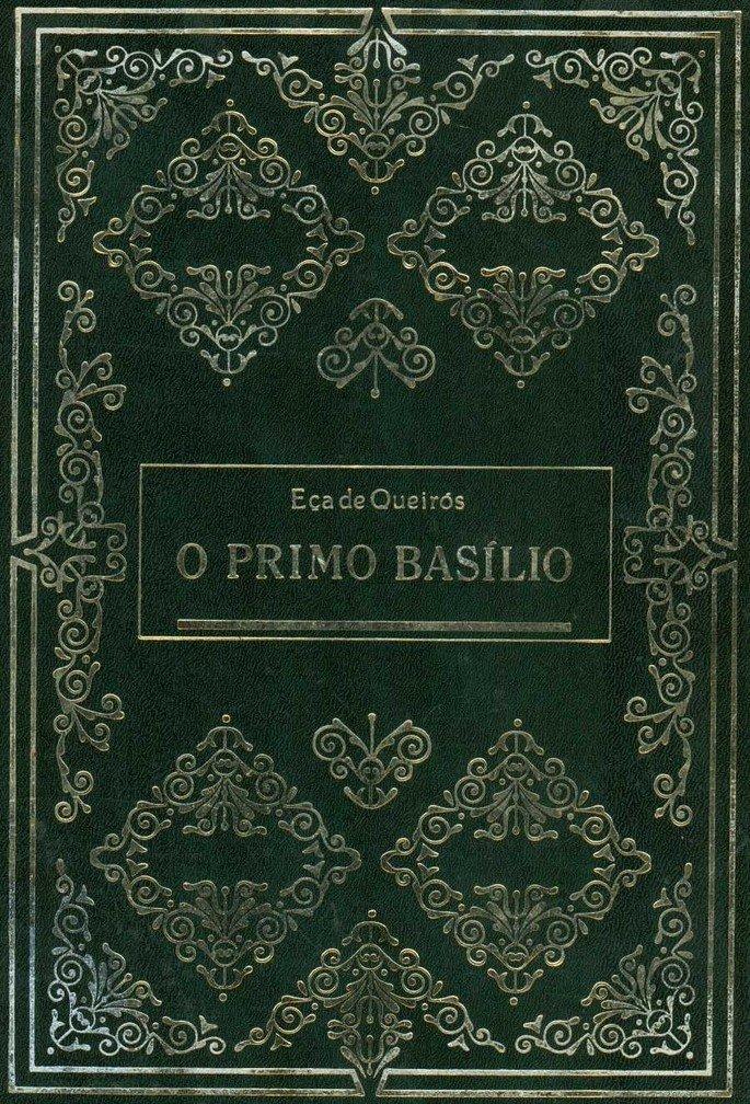 Capa do livro O Primo Basílio, de Eça de Queirós.