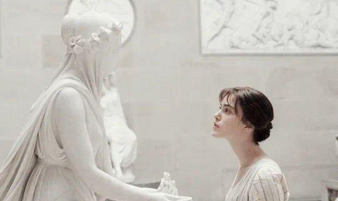 Orgulho e preconceito esculturas gregas
