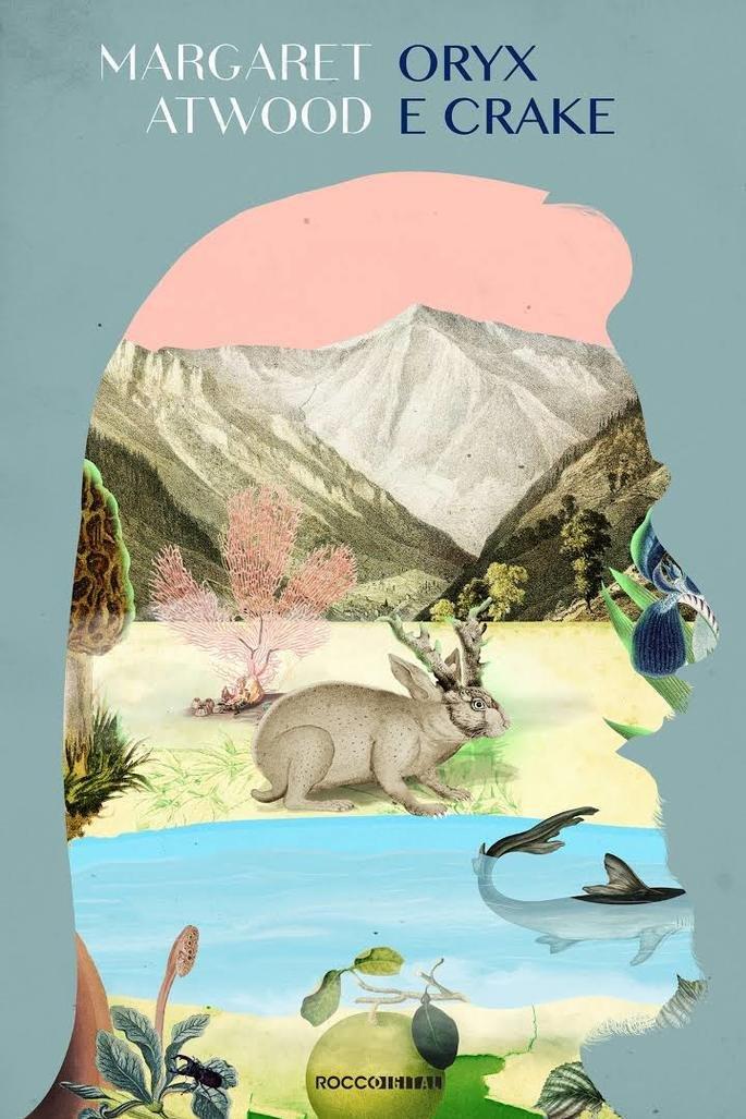 Capa do livro Oryx e Crake.
