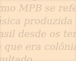 Os maiores sucessos da MPB