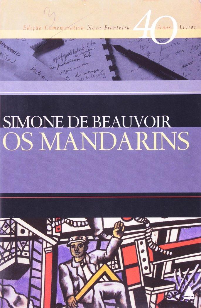 Capa do livro Os Mandarins, de Simone de Beauvoir.