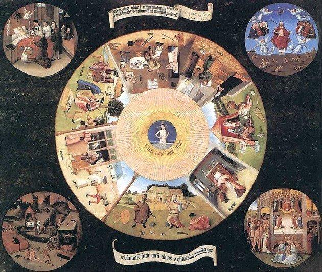 Os sete pecados