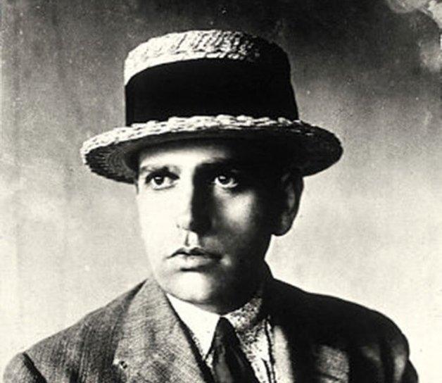 Retrato de Oswald de Andrade.