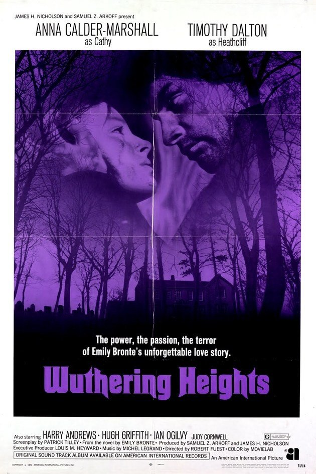 Cartaz Wuthering Heights.