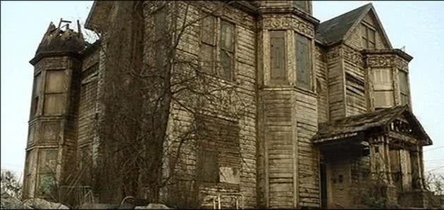 Casa de Tyler Durden no filme Clube da Luta