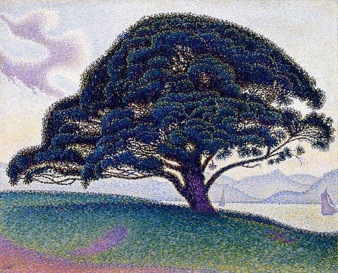 The Bonaventure Pine (1893), de Paul Signac