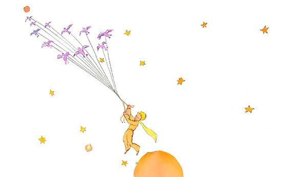 ilustração pequeno príncipe