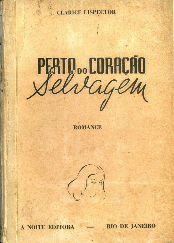 capa do livro Perto do Coração Selvagem primeira edição