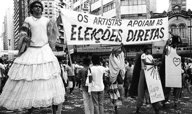 Diretas Já em Belo Horizonte 1984