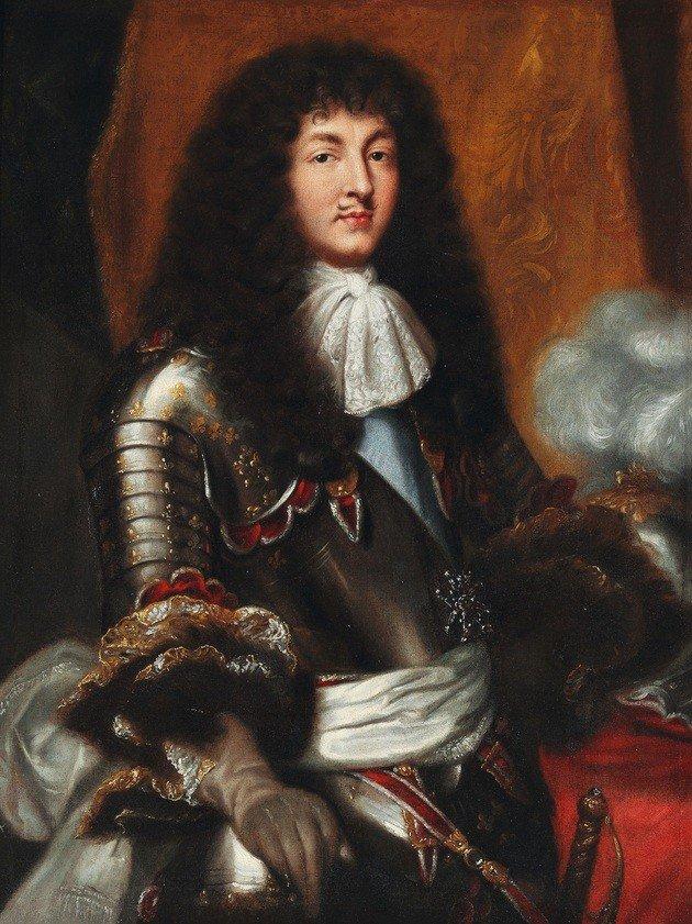 Luís XIV iniciou o seu reinado aos 16 anos.
