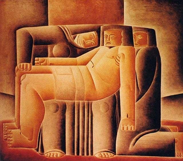 Pietá, de Vicente do Rego Monteiro