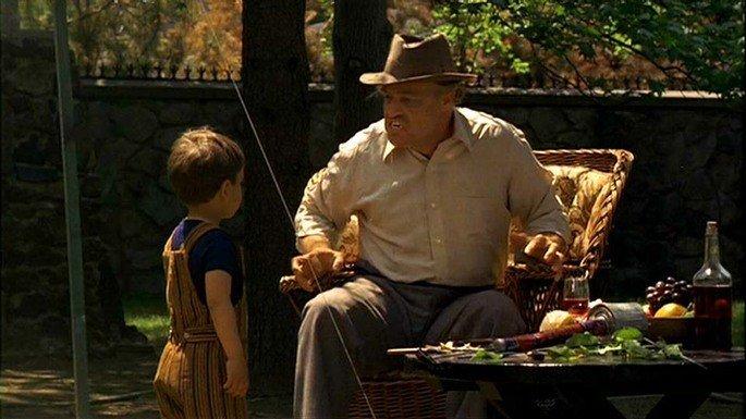 Última cena de Vito Corleone