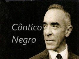 Poema Cântico Negro de José Régio