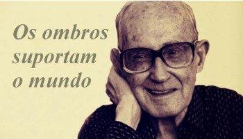 Poema Os Ombros Suportam o Mundo de Carlos Drummond de Andrade