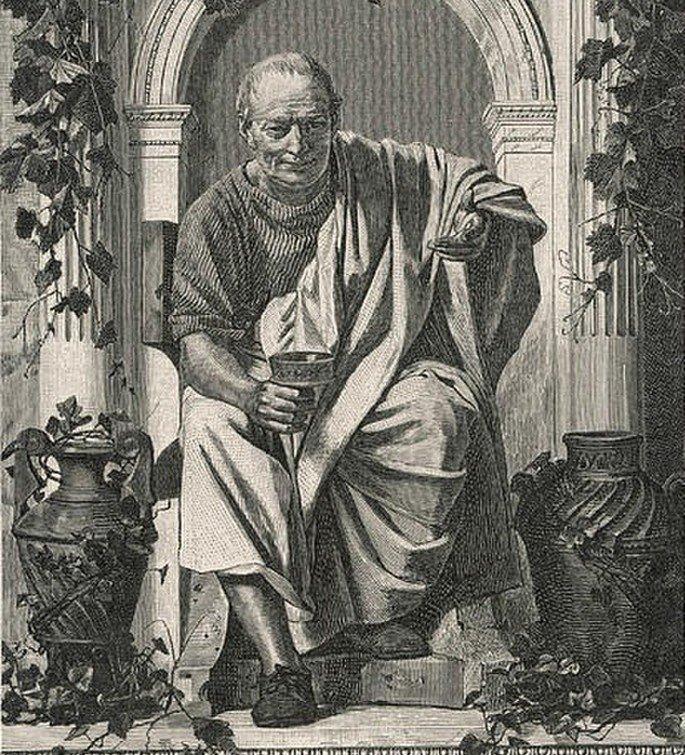 Poeta romano HOrácio