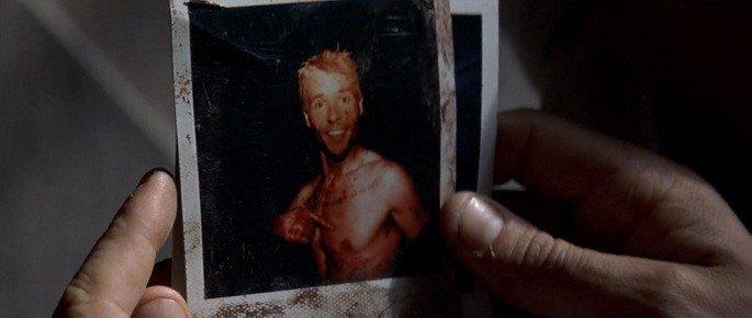 Frame: polaroid de Lenny sorrindo