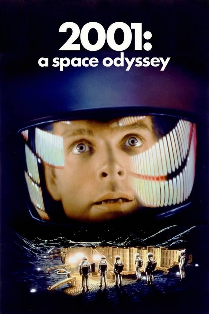 Poster do filme 2001: Uma Odisseia no Espaço.