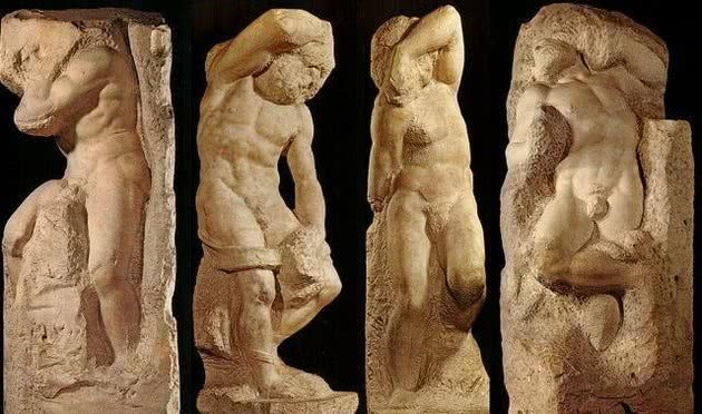 Prisioneiros ou Escravos, Galleria della Academia, Florença