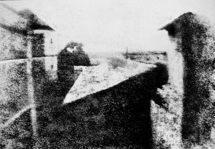 primeira fotografia Niepce