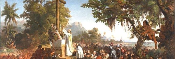 Quadro A Primeira Missa, de Victor Meirelles