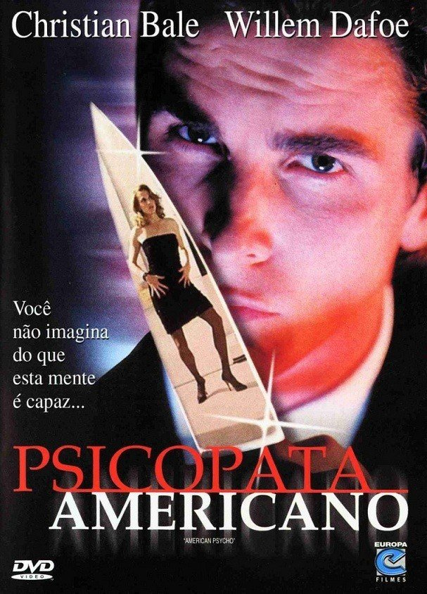 Cartaz do filme Psicopata Americano.