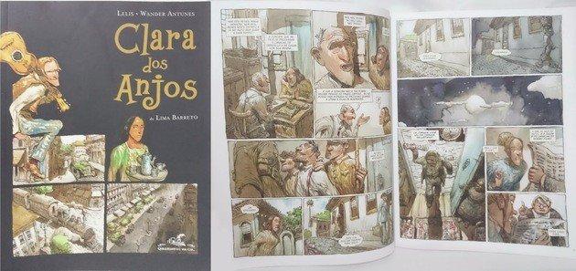 Adaptação para os quadrinhos do romance de Lima Barreto.