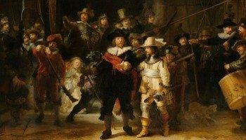 Quadro A Ronda Noturna, de Rembrandt