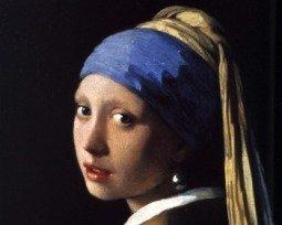 Quadro Moça com brinco de pérola, de Johannes Vermeer