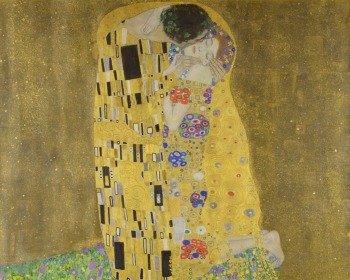 Quadro O Beijo, de Gustav Klimt