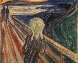 Quadro O Grito, de Edvard Munch