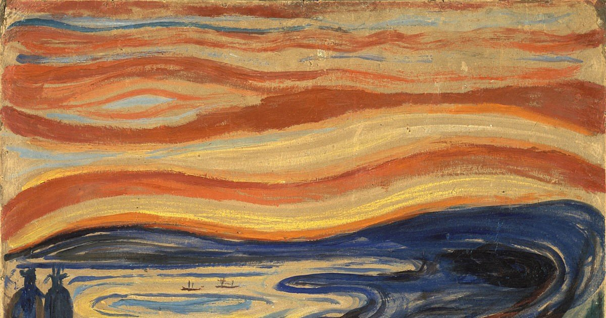 Significado Do Quadro O Grito De Edvard Munch Cultura Genial