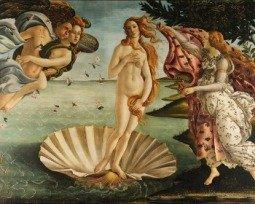 Quadro O Nascimento de Vênus, de Sandro Botticelli