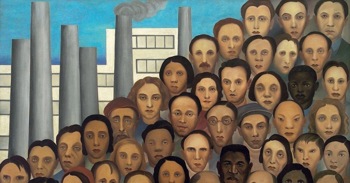 Operários, de Tarsila do Amaral