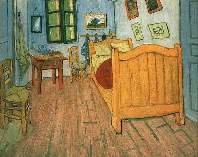 O quarto em Arles, de Vincent van Gogh