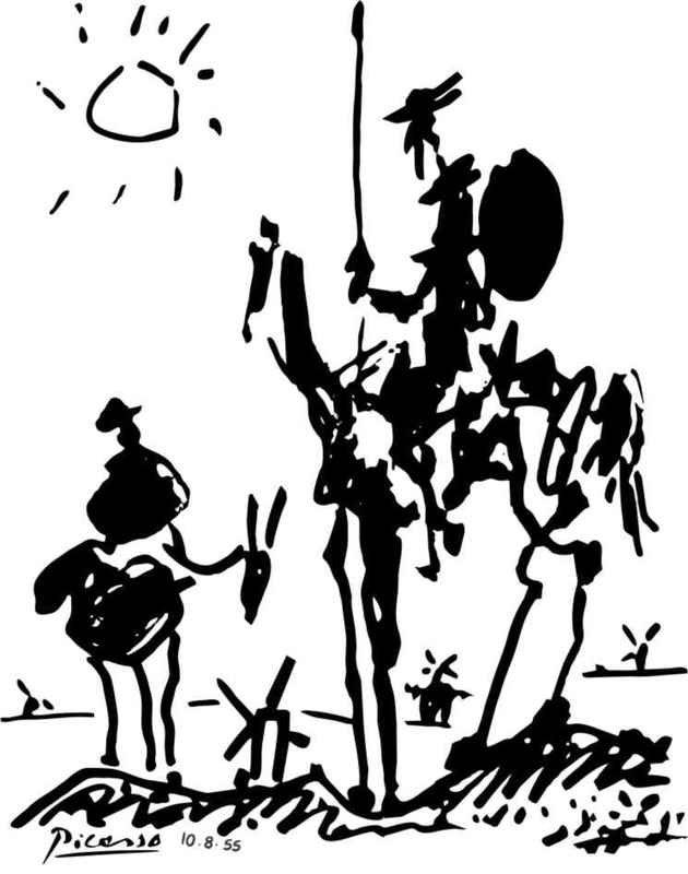Quixote, Picasso