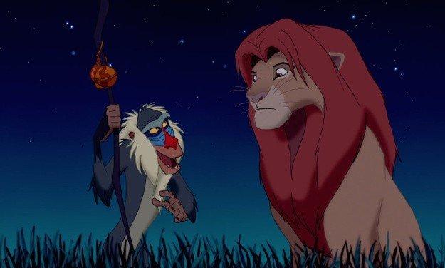 Simba e Rafiki