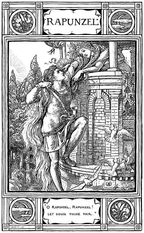 ilustração de Walter Crane