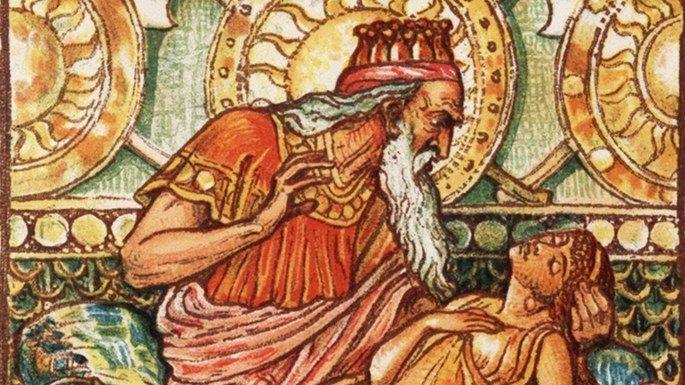 Rei Midas e o toque de ouro