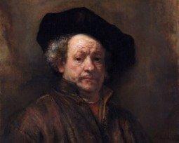 As obras mais importantes de Rembrandt e a sua biografia