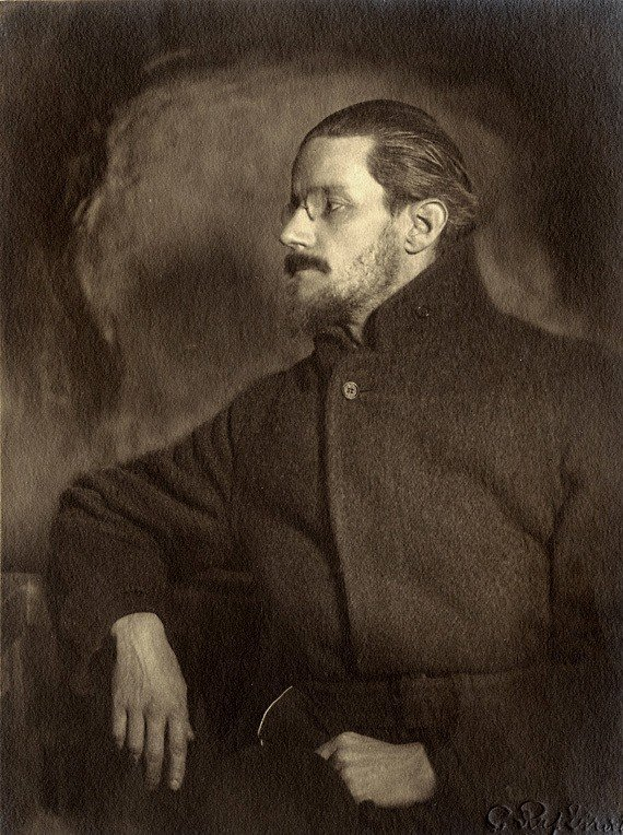 Retrato de James Joyce.