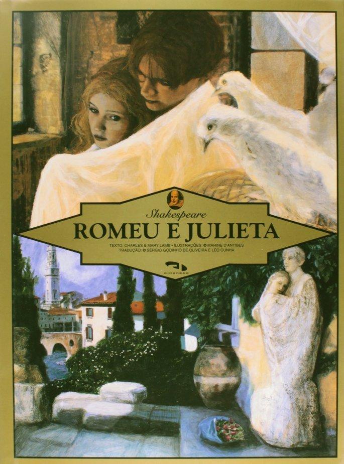 Capa do livro Romeu e Julieta