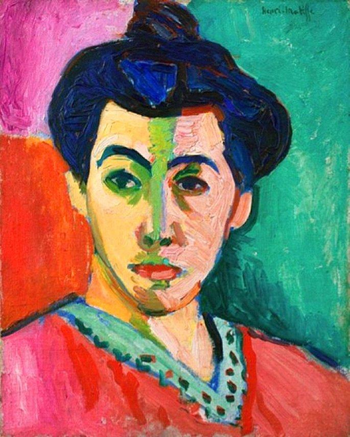 Retrato de Madame Matisse